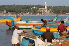 Kovalam - Vizhinjam Fishing Town, India