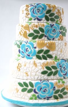 105 Awesome Mosaic Cakes Images