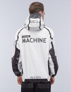 UEG Tyvek® Machine 3 Zip-Up Jacket