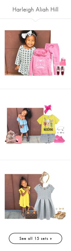 """Harleigh Aliah Hill"" by kidcraze ❤ liked on Polyvore featuring Carter's, Levi's, Moschino, State, Alex and Ani, Kate Spade, Louis Vuitton, J.Crew, Michael Kors and Venessa Arizaga"