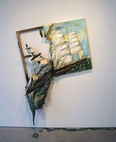 """""""Valery created intriguing art pieces that will surprise you. Find more about the artist and her inspiration below."""""""