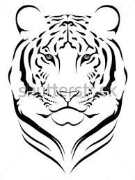 tiger tattoo black and white - Google Search