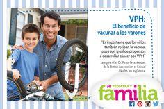Mi Pediatra y Familia -VPH: El beneficio de vacunar a los varones  #mipediatrayfamilia #queremosniñossaludables