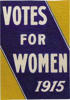 "American Suffrage Poster ""Votes For Women x This no-nonsense declaration is - Available at 2007 February Political. Deeds Not Words, Society Problems, Suffrage Movement, Women Poster, Protest Posters, Suffragette, Vintage Advertisements, Advertising Ads, Science Books"