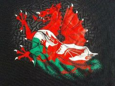 "the most famous symbol of Wales, the Red Dragon, or as it is known in Welsh, "" Y Ddraig Goch"" (pronounced uh thraig go-k) Cardiff Wales, Wales Uk, South Wales, Symbol Of Wales, Tournoi Des 6 Nations, Welsh Sayings, Welsh Tattoo, Learn Welsh, Welsh Dragon"