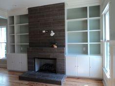 Nice Modern Fireplace Tile #6 Modern Tile Fireplace Designs