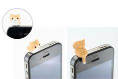 Niconico Nekomura Tappo antipolvere Ginger Anti dust Plug 2.50€ consegna immediata acquistalo qui: http://www.savelgo.it/contents/accessori/cagliostro#!/kawaii/products/unknow/kawaiinekodustplug