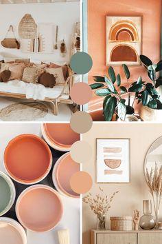 Room Ideas Bedroom, Diy Bedroom Decor, Earthy Home Decor, Boho Room, My New Room, Home Decor Inspiration, Interior Design, Earth Colour Palette, Bedroom Colour Palette
