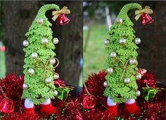 Häkelanleitung für Weihnachtsbaum