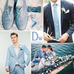 Свадьба в цвете Serenity | DiscoverWedding.ru