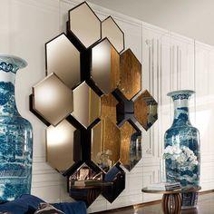Лучший Дизайн из зазеркалья - Маленькие и большие Зеркала в интерьере квартиры (290+ Фото)