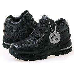 Nike Air Max Goadome Ps Little Kids 311568-001 Black Acg Boots Youth Size 11