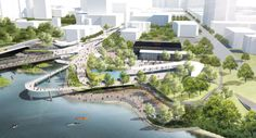 Civitas and Stantec Win Ontario's Thames River Redevelopment Competition | Architect Magazine | Competitions, Design, Urban Design, Architecture, Civitas, Stantec Consulting, Stantec