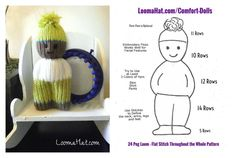 Loom Knitting Instructions | Knit-A-Square