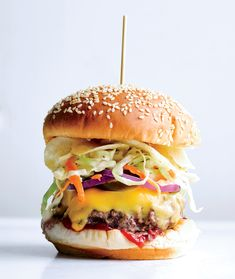 Bobby Flay's tips for building the perfect burger