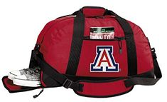 University of Georgia Duffle Bags - Georgia Bulldogs Gym Bag w/Shoe Pockets University Of Georgia, University Of Arizona, Cat Gym, Arizona Wildcats, Duffle Bags, Georgia Bulldogs, Gym Bag, Backpacks, Pockets