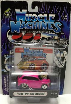 (TAS034136) - 2001 Funline Muscle Machines Die-Cast Car '00 PT Cruiser