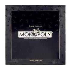 Monopoly Onyx Edition Hasbro http://www.amazon.com/dp/B002XOXJYU/ref=cm_sw_r_pi_dp_4SCnvb0BTVC4N