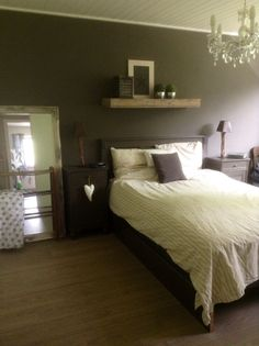 Slaapkamer landelijke sfeer