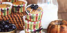 Si te encanta lo dulce, no te puedes perder esta receta de muffins de arándanos, zapallito italiano y té verde. Ideales para acompañar un té.