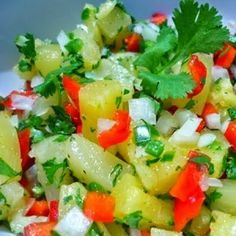 Pineapple Sage Salsa- was great ! We used fresh pineapple sage from the garden Sage Recipes, Herb Recipes, Cooking Recipes, Healthy Recipes, Cooking Tips, Dip Recipes, Easy Cooking, Vegetable Recipes, Summer Recipes