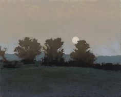 Evening Near Ballycastle, 10 x 8 inches, oil on panel