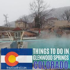 There are so many fun things to do in Glenwood Springs Colorado in the summer or the winter. Swim in the hot springs, hike to hanging lake, ride the gondola to Glenwood Caverns Adventure Park. Glenwood Springs Colorado is perfect for your summer or winter vacation in Colorado Glenwood Springs Colorado, Colorado Hiking, Colorado Mountains, Travel With Kids, Family Travel, Road Trip Usa, Travel Information, Hot Springs, Things To Do