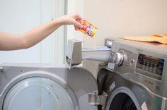 gunk in washing machine
