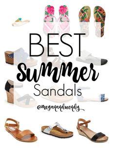 Best Summer Sandals