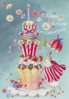 Geburtstagskarte - Nina Chen