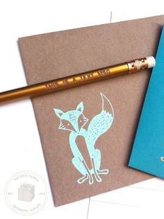 """This is a Text Msg"" LOVE, love, love that pencil. Too cute. *Did you have a pen pal growing up?"