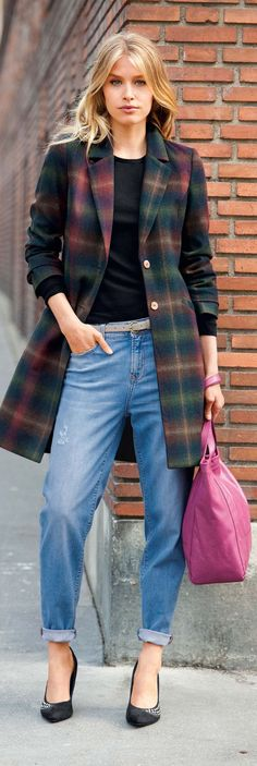 """Tartan Plaid Clothing for Women - Is it Hip to Be Square in 2014?"" - article at http://boomerinas.com/2013/11/24/tartan-plaid-clothing-for-women-is-it-hip-to-be-square/"