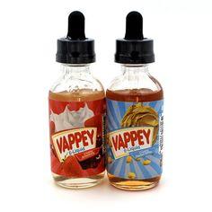 Purchase #VAPPEY E-Liquid holds premium e liquids and array of flavors. #ejuices #eliquids #vapor #vapoorzon #vappey