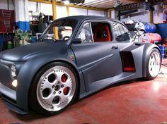 Fiat 500 with V12 Lamborghini engine...