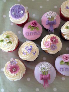 Hen do cupcakes :)