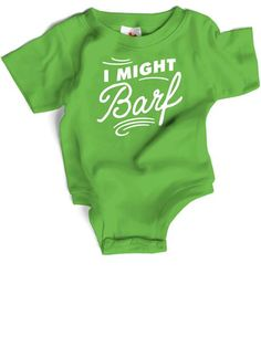 Wry Baby - I Might Barf Snapsuit™ image