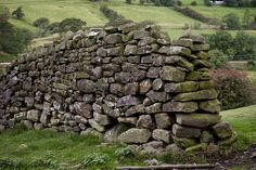 reminds me of an old rock wall I followed in the Shetland Isles