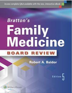 Bratton's Family Medicine Board Review 5th Ed eTextbook
