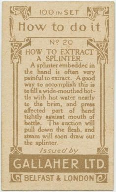 vintage everyday: 40 Life Hacks from 100 Years Ago That are Still Useful in Today's Society