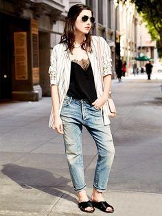 Ultimate cool-girl style // #StreetStyle