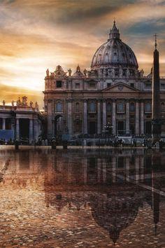 St. Peters Basilica | Source | Italian-Luxury | Instagram