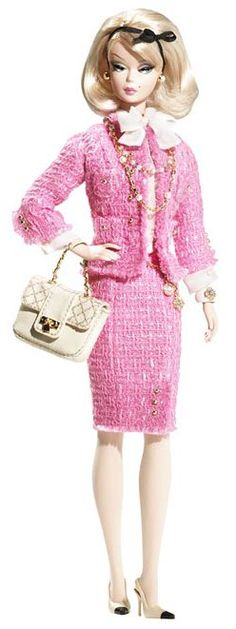 2008 Preferably Pink Barbie® Doll | Barbie Fashion Model Collection *SILKSTONE