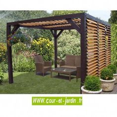 The pergola you choose will probably set the tone for your outdoor living space, so you will want to choose a pergola that matches your personal style as closely as possible. The style and design of your PerGola are based on personal Pergola Carport, Building A Pergola, Pergola Swing, Outdoor Pergola, Backyard Pergola, Pergola Shade, Building Plans, Cheap Pergola, Pergola Lighting