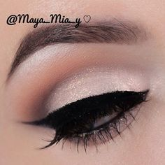 Beautiful Bridal eye makeup #wedding PERFECT FOR ALL THE DAY