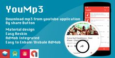 YouMp3 - Download mp3 from share button - https://codeholder.net/item/mobile/yoump3-download-mp3-share-button