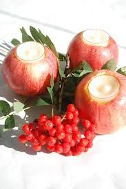Bildresultat för höstdukning Candles, Apple, Fruit, Vegetables, Food, Apple Fruit, Hoods, Vegetable Recipes, Meals