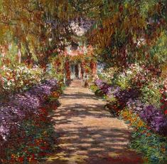 Claude Monet - Weg naar Giverny Claude Monet