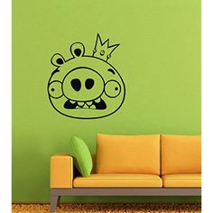 Angry Birds Rovio Wall Decals – Game Vinyl Stickers For Men Women Kids – Stickers For Car Windshield Door Window – Cartoon Animation Removable Kitchen Living Room Home Decor Wall Decals ** See this great product. (This is an affiliate link)