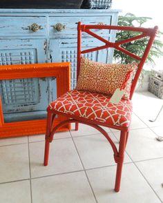 I Love Chairs. I love orange ones even more!