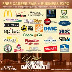 We have more than 25 top companies that will be interviewing and hiring on the spot at the Detroit Economic Empowerment Summit Career Fair. Admission is Free, but registration is requested. http://hub.am/1qWefmn #EESummitTour